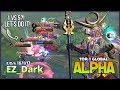 Brutal Damage with Unlimited Lifesteal Alpha by EZ_Dark Top 1 Global Alpha ~ Mobile Legends
