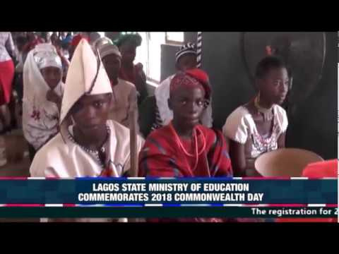 LAGOS STATE MINISTRY OF EDUCATION COMMEMORATES 2018 COMMONWEALTH DAY