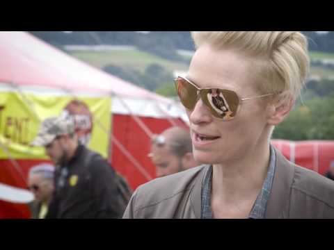 Glastonbury 2016 Tilda Swinton