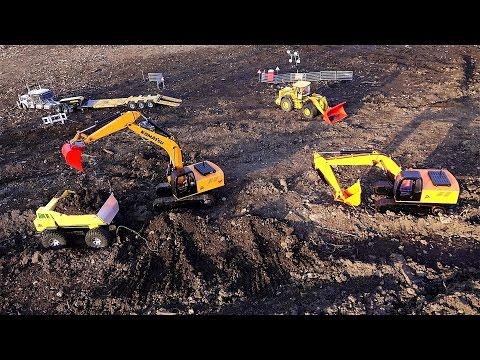 RC ADVENTURES - Project Roadway - Hydraulic Heavy Duty Radio Control Equipment