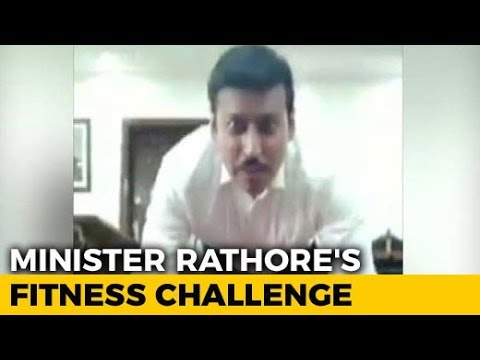 Watch: Rajyavardhan Singh Rathore Gives Fitness Challenge To Indians And These 3 Celebs