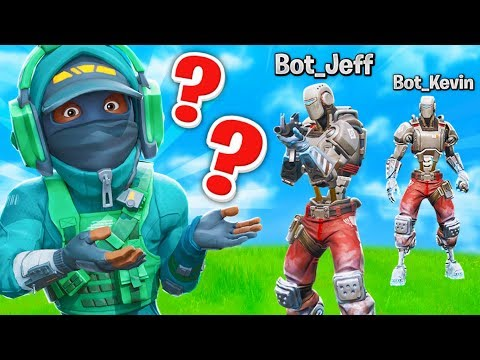What if a lobby was only AI BOTS?