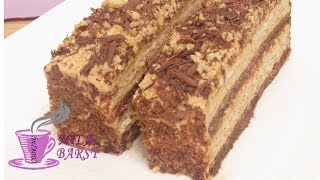 Торт Сметанник без яиц | Очень нежный | Sour cream cake without eggs