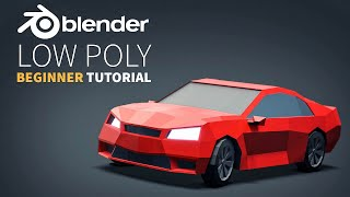 Low Poly Vehicles | Easy Beginner | Blender 2.8 Tutorial