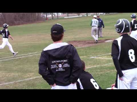 Chazy - Crown Point Baseball  4-26-18