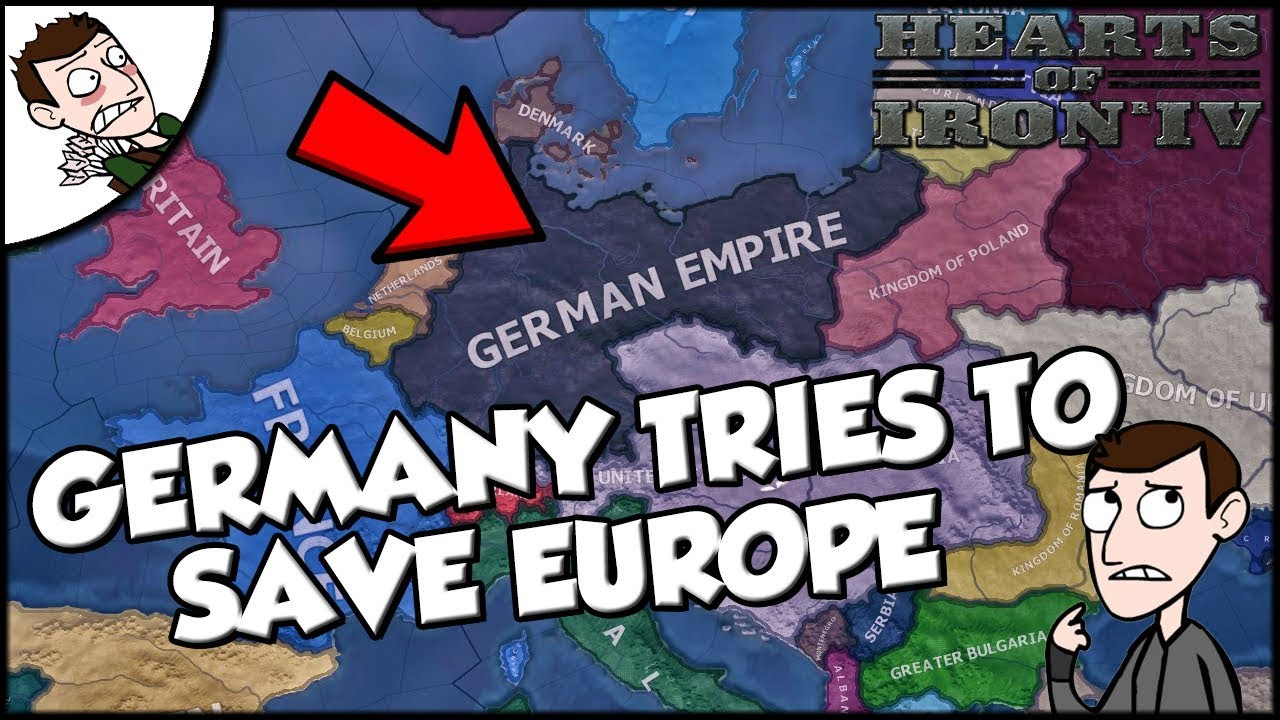 Germany Tries to Save Europe Hearts of Iron 4 Weltkrieg ...
