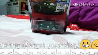 Mattel Disney cars 2 (Nigel gearsley)😀😁☺️😉