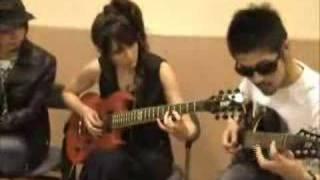 リア・ディゾンleahdizonギターに挑戦「Real G-ZONE」9 http://www.leah...