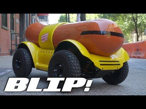 Oscar Mayer's Amazing 'Wiener Rover' R/C Hot Dog Drone | BLIP!