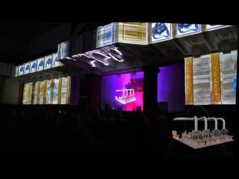 Novo Nordisk event, Zagreb   hologram, 3D mapping