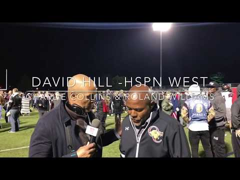 HSPN SPORTS; Post Game Interview With Charlie Collins WR Coach & Rolland Williams OL/DL Coach