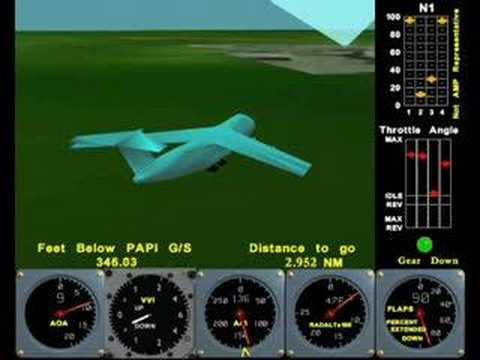 C-5 accident animation