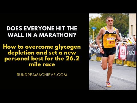 How To Not Hit the Wall In The Marathon