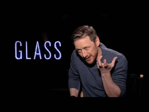 GLASS movie interviews - Shyamalan, McAvoy, Samuel L. Jackson, Paulson, Taylor-Joy
