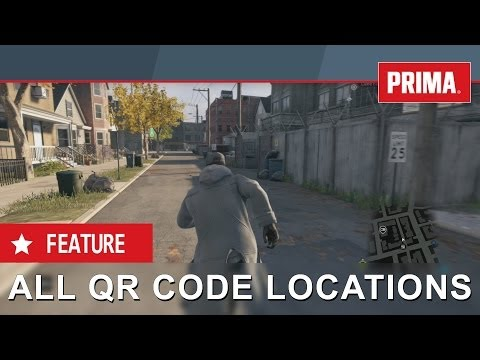 Watch Dogs - All 16 QR Code Locations, Hidden Messages, Read
