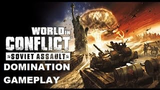 World in Conflict Domination on map Tenquille Air Support (HD)
