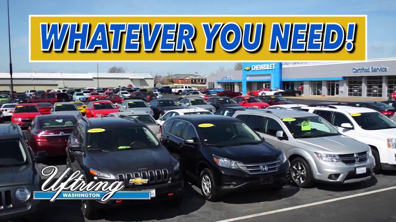 Quality Used Cars - Uftring Chevrolet - Washington, IL - YouTube