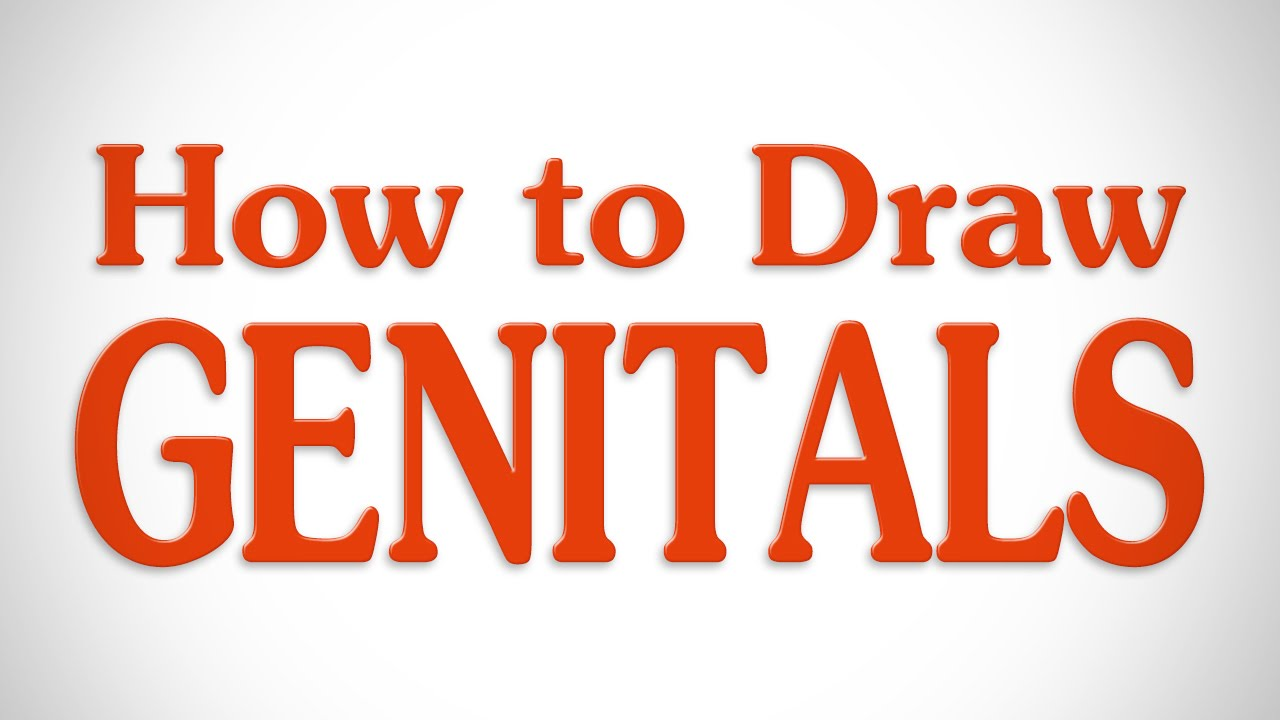 How to Draw Genitals - YouTube