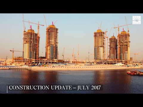 Dubai Creek Harbour Construction Update