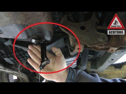 Das Pleuel lässt grüßen! Motorschaden reparieren?