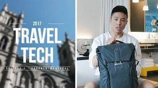 WHAT'S IN MY TECH TRAVEL BAG | 2017