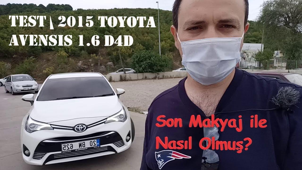 Test || 2015 Toyota Avensis 1.6 D4D - #71
