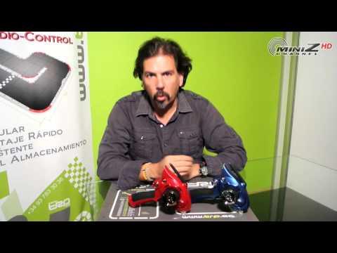 Emisoras KT-18 Edición Limitada Rojo y Azul - MiniZ Channel - 131