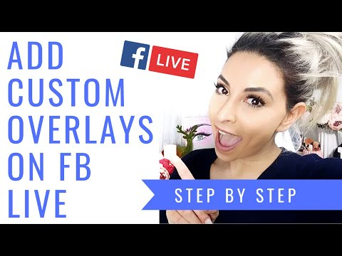 HOW TO FACEBOOK LIVE STREAM LIKE A PRO | ADD LOGOS, HANDLES, LINKS & MORE