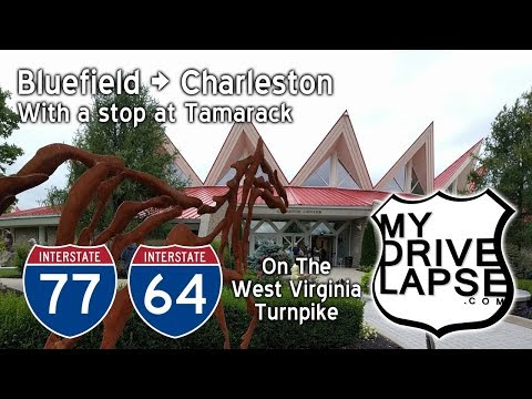 West Virginia Turnpike, Bluefield to Charleston, I-77 & 64