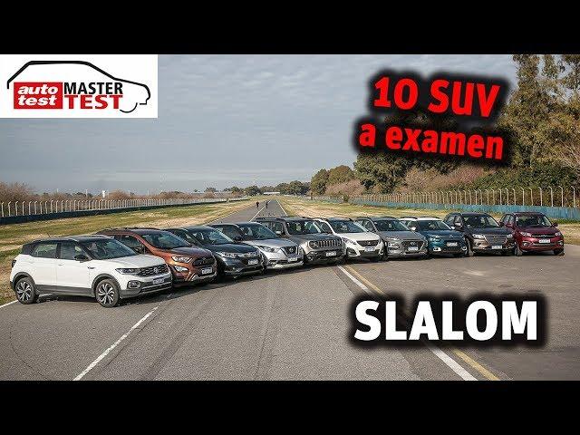 MASTER TEST: la prueba de slalom completa