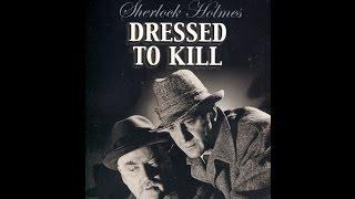 Sherlock Holmes Dressed to Kill (1946)  HD Stars: Basil Rathbone, Nigel Bruce   FULL MOVIE