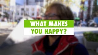 Learn English: What makes you happy?