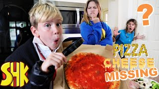 Pizza Cheese is Missing & More Funny Mysteries! SuperHeroKids Family Mystery Videos Compilation