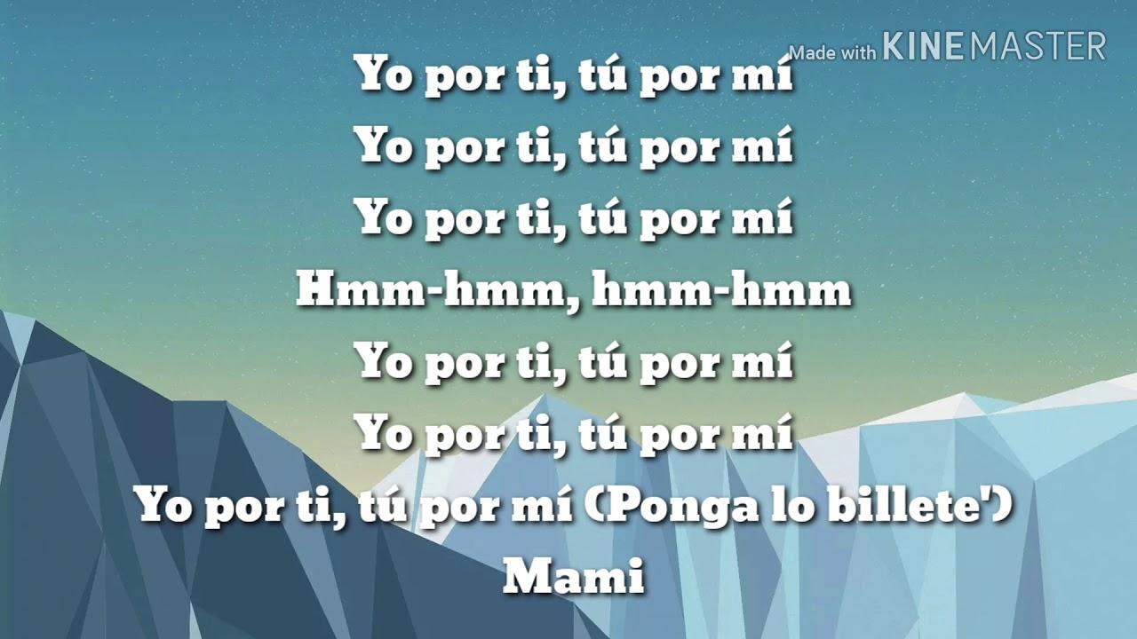 Yo x ti, Tu x mi ROSALIA & Ozuna Letra/Lyrics