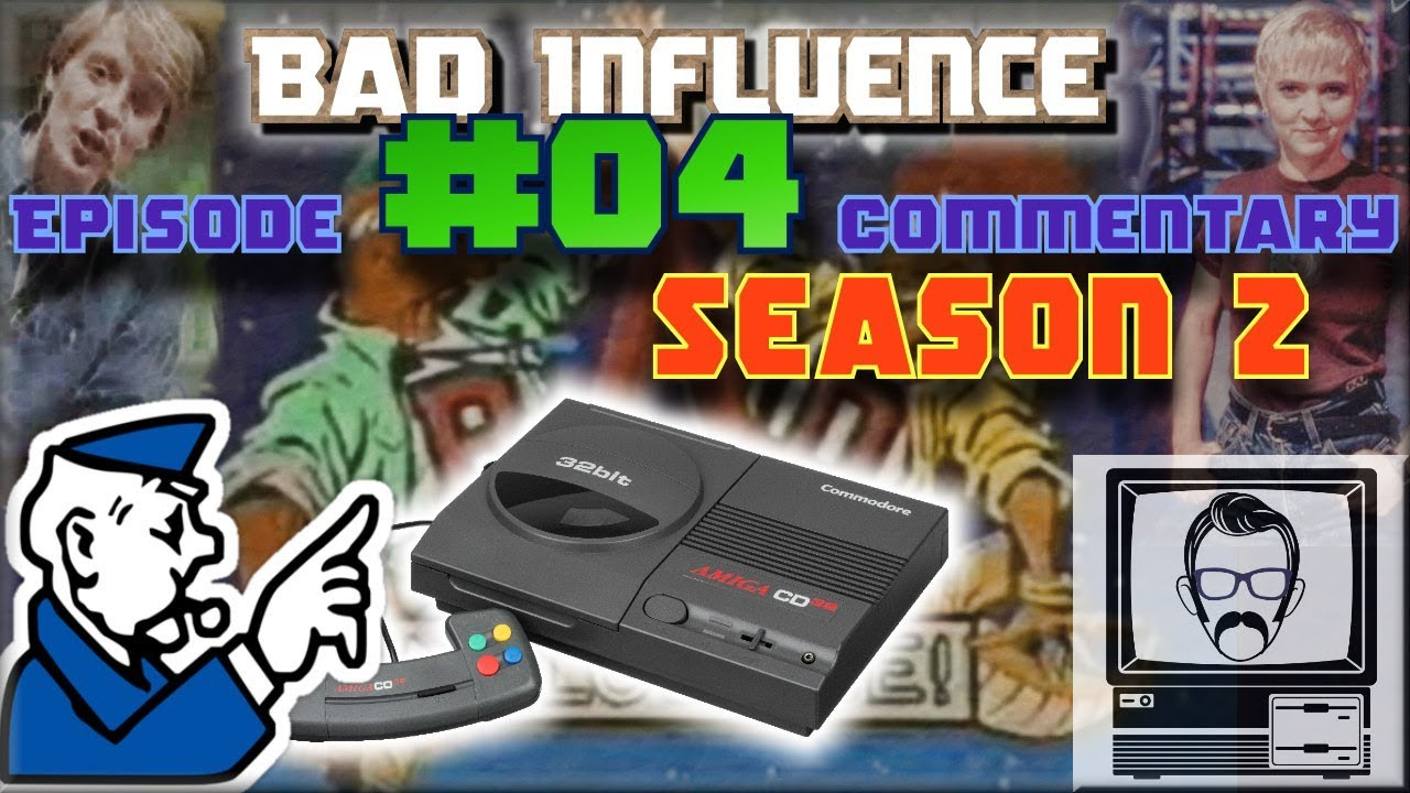 Bad Influence 2 4 - Computer Board Games & CD32 | Nostalgia Nerd