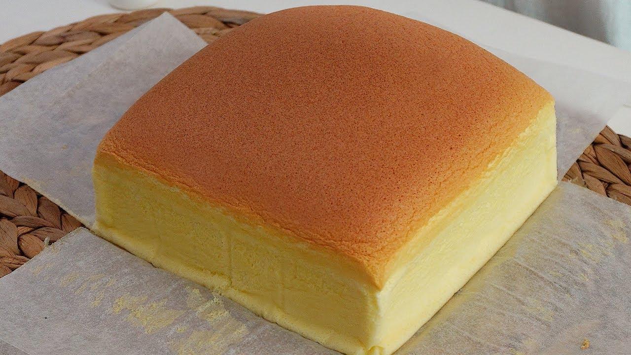 갈라짐 없는 완벽한 대만 카스테라 만들기 (무조건 성공, 쉬운 베이킹, Taiwanese Castella Cake Recipe)