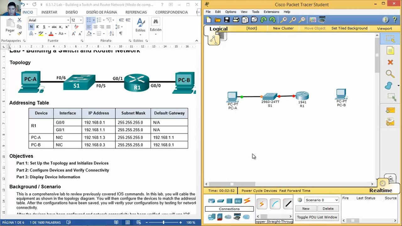 Lab routing manual switching essentials pdf and