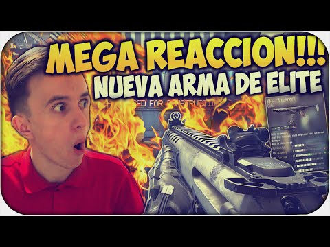 MEGA REACCIÓN!!! NUEVA ARMA DE ELITE - CALL OF DUTY ADVANCED WARFARE