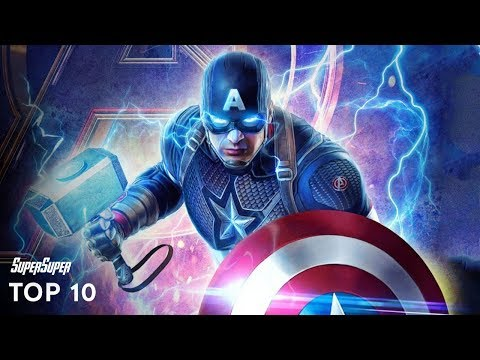 Marvel's Top 10 Most Powerful Superheroes   Explained in HINDI