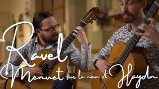 Ravel for Guitar: Menuet sur le nom d'Haydn - Guitar Chamber Music (Ottawa Guitar Trio)