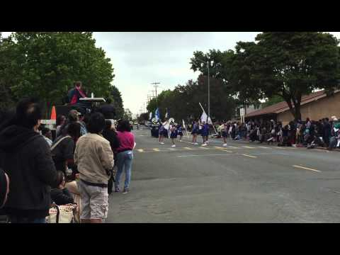 Solano Middle School Marching Band at Vallejo Band Festival May 9, 2015