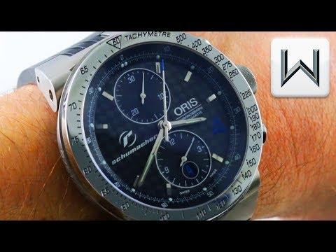 Oris Williams F1 Schumacher Limited Edition 673 7561 7064RS Ralf Schumacher Luxury Watch Review