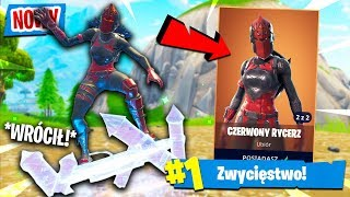 "🔥 * LEGENDARY * SKIN ""RED KNIGHT"" RETURNED! 