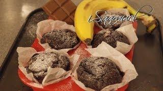 Chocolate Banana Muffins | Recipe