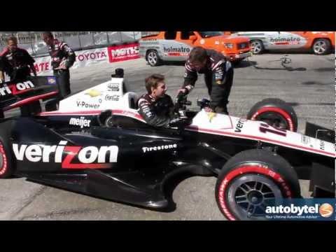 2012 Long Beach Grand Prix Winner Will Power Runs out of Gas