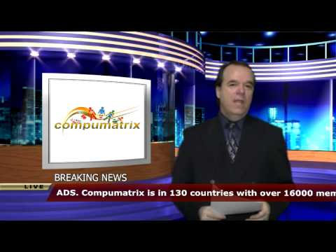 Breaking News Style Video With Virtual Studio Background