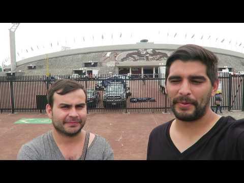 En el estadio Olimpico Universitario, Pumas de la UNAM
