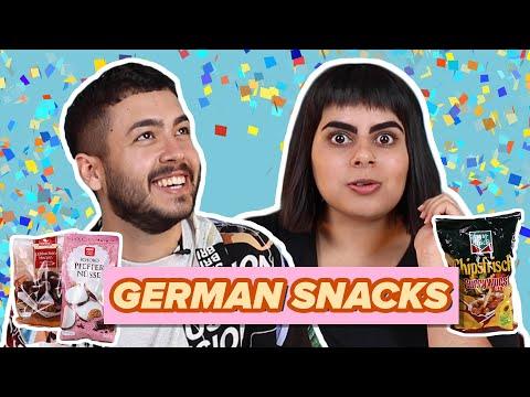 Aussies Try German Snacks