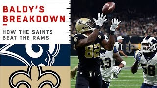 How the Saints Beat the Undefeated Rams | NFL Film Review
