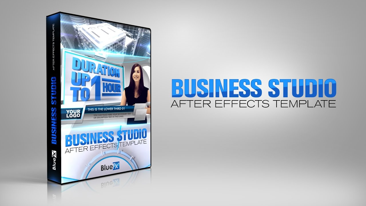 virtual studio set business studio bluefx after effects template youtube. Black Bedroom Furniture Sets. Home Design Ideas